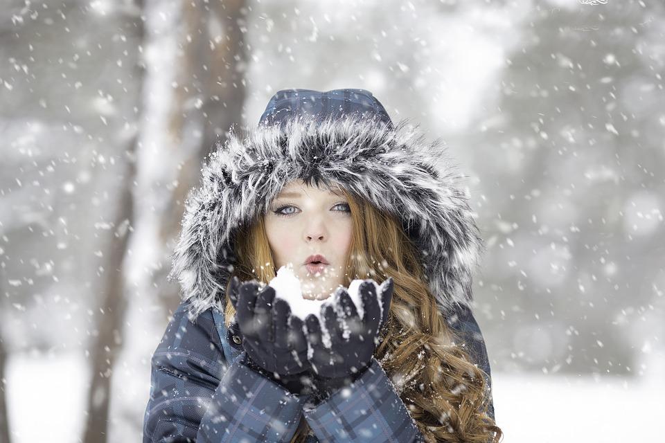 Herlig med vinter og snø!
